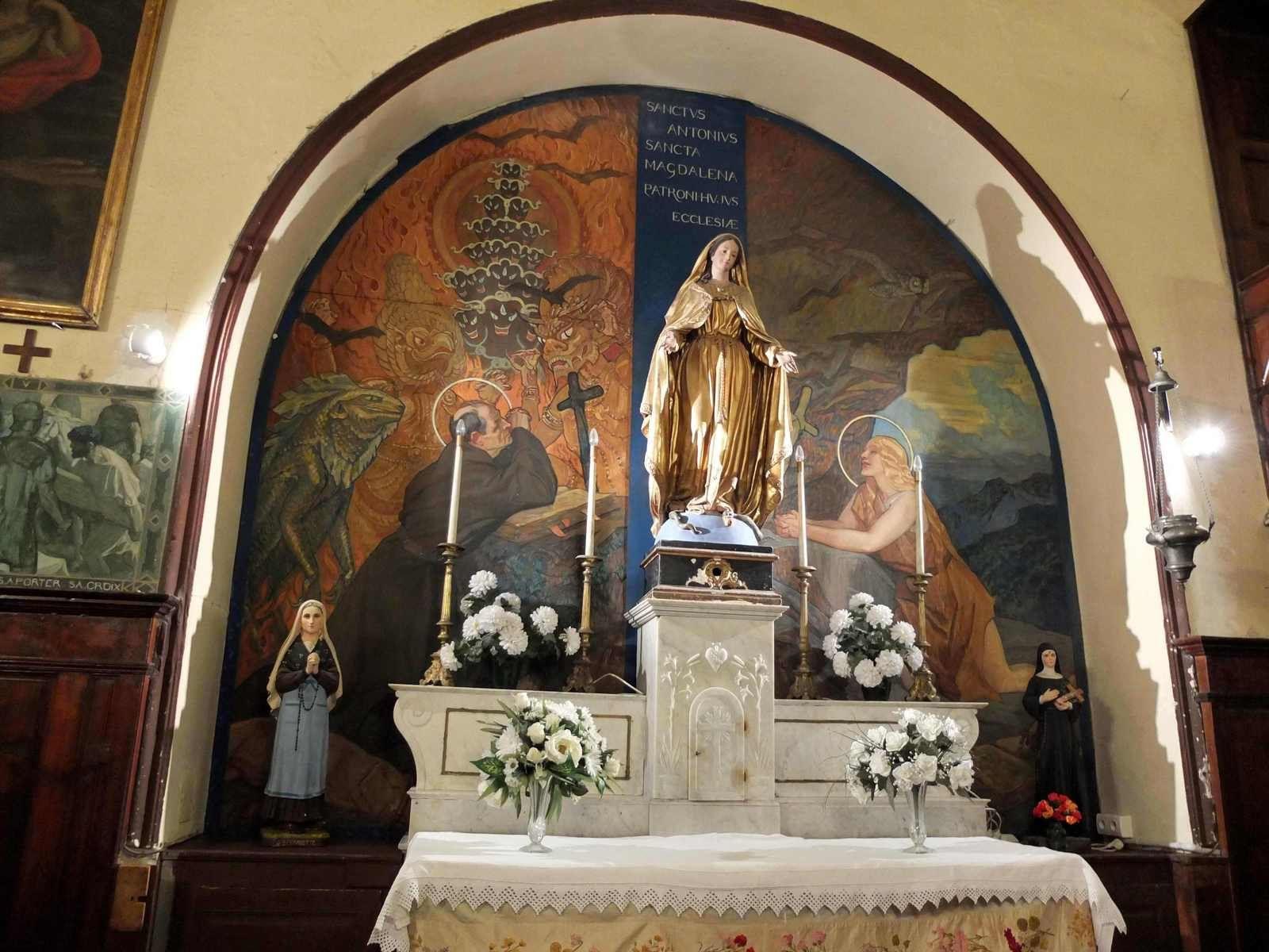 Autel des saints Patrons