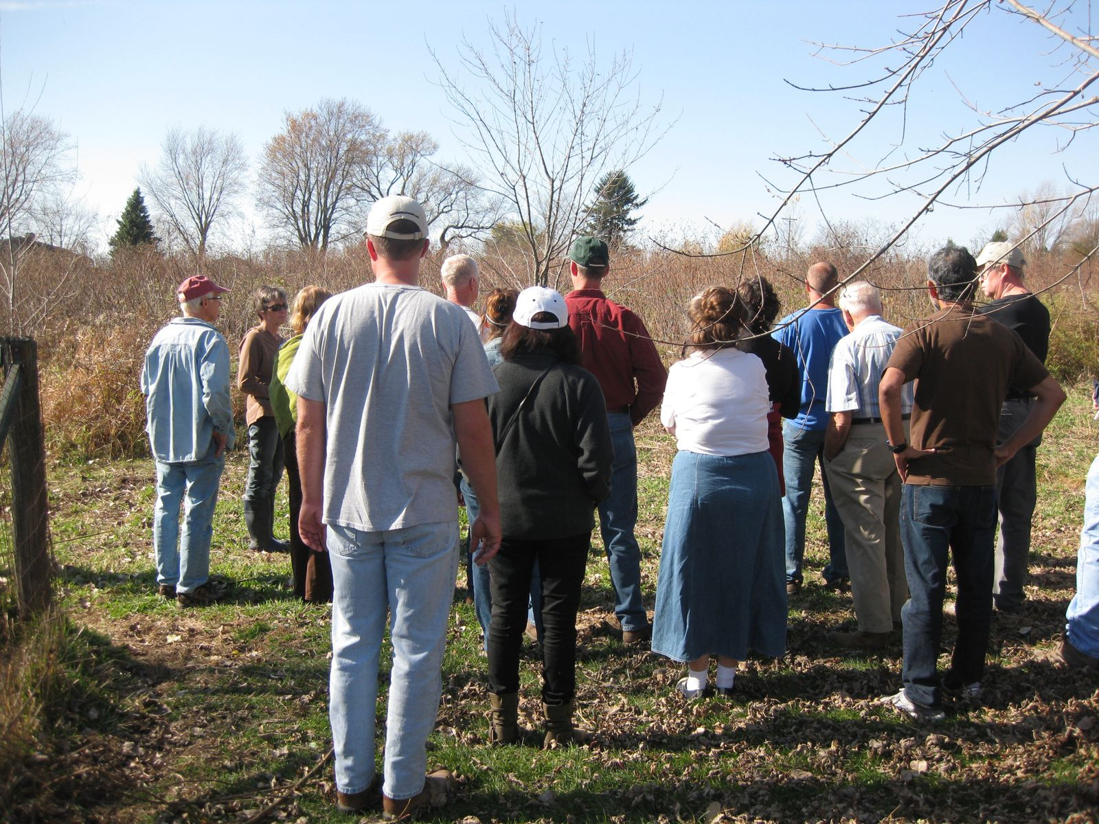 Sharon and Dennis Lang graciously opened their 70 acre home to our group's tour. They are knowledgeable in many areas of homesteading and stewarding the land.