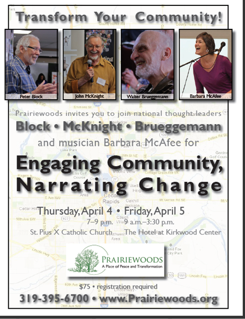 April 4-5 Conference: Engaging Community, Narrating Change