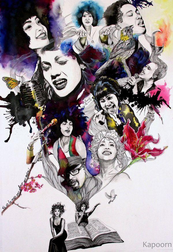 """Illustration """"Sing"""" Gospel - Jazz - """"Chante"""""""