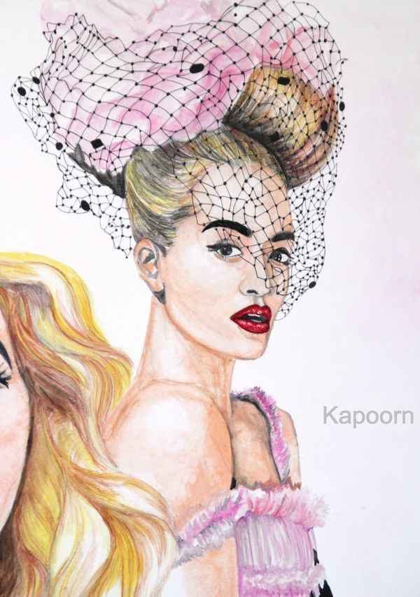Illustration - Rita Ora