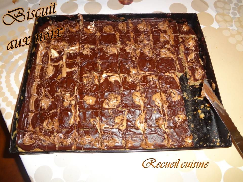 Minis Brownies (Petits biscuits aux noix)