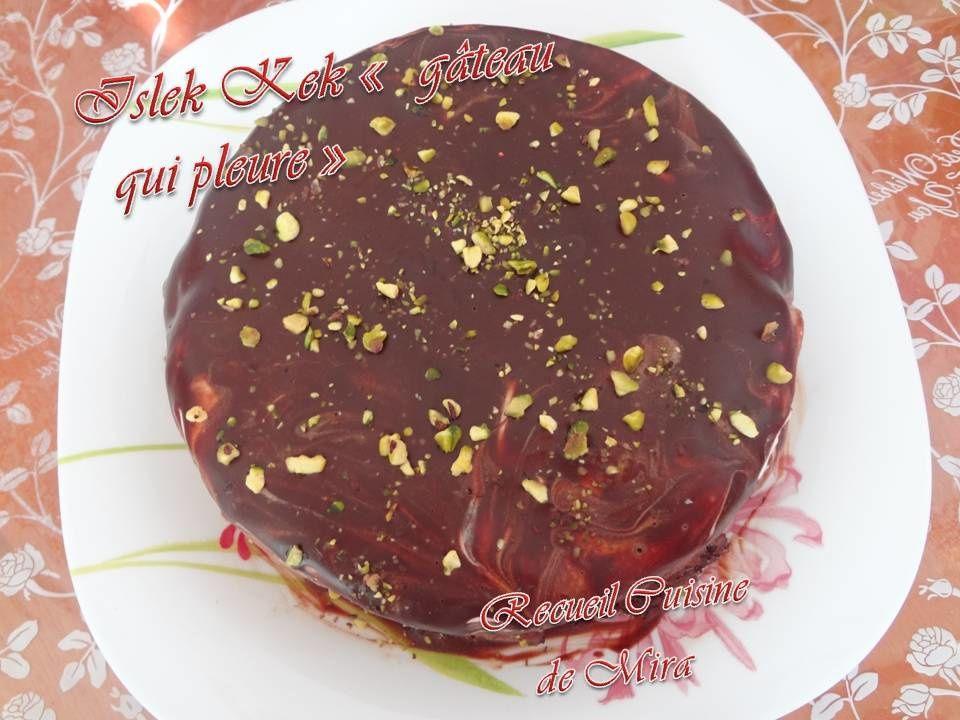 ISLEK KEK (le gâteau qui pleure)