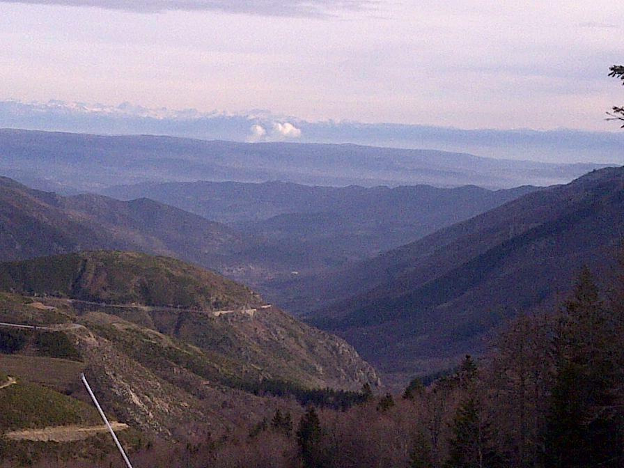 journée ski a La Croix De Bauzon