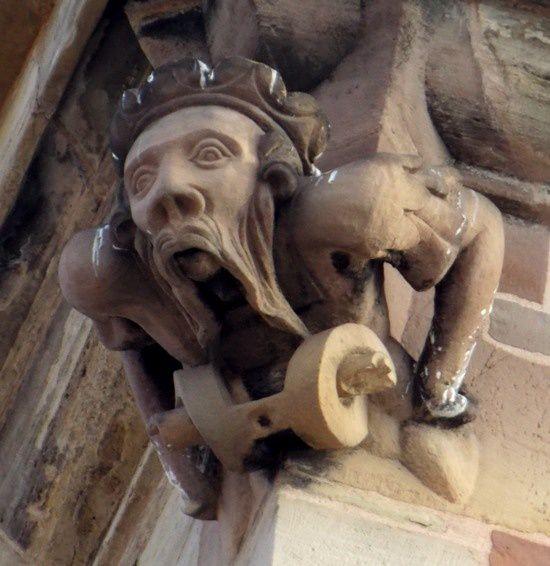 Sculpture du Kappelturm, Obernai