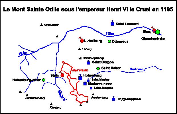 L'Histoire des Châteaux du Mont-Saint-Odile
