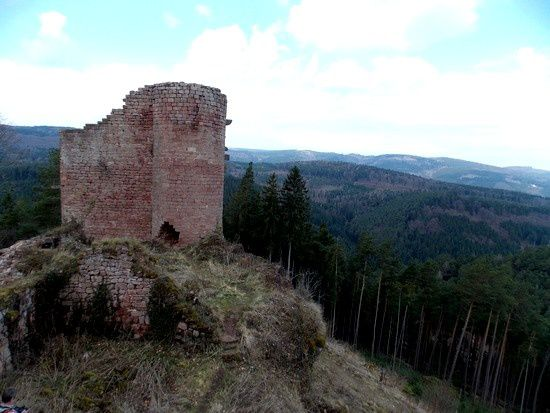 Donjon du Stein occidental