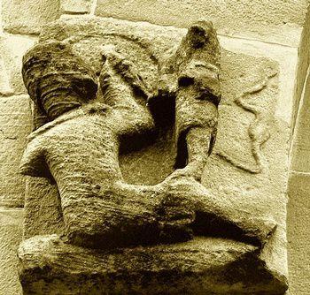 Le roi David dans l' Hortus Deliciarum