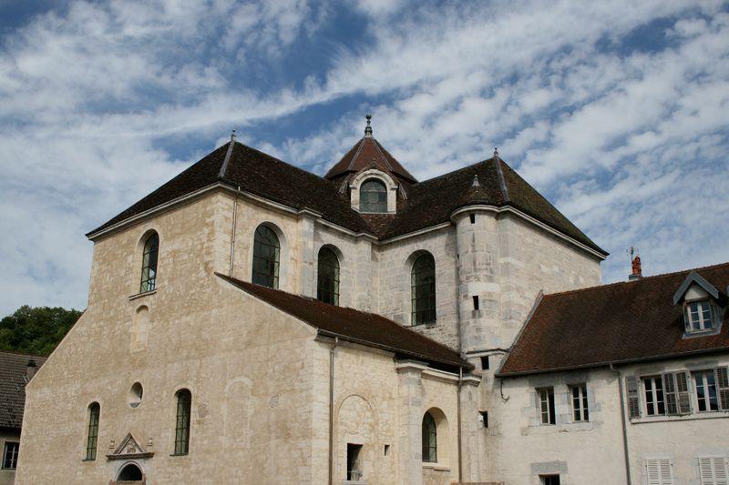 Abbaye de Sainte Odile, à Baume les Dames