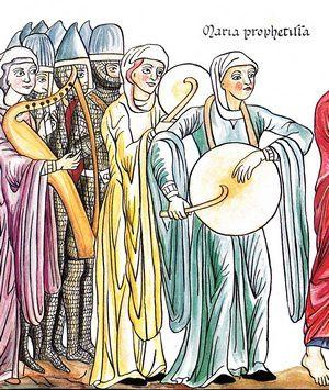 Herrade de Landsberg et la musique dans l'Hortus Deliciarum