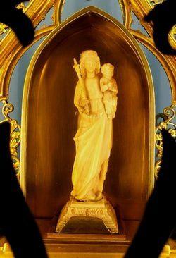 La statue de Notre Dame de Neunkirch