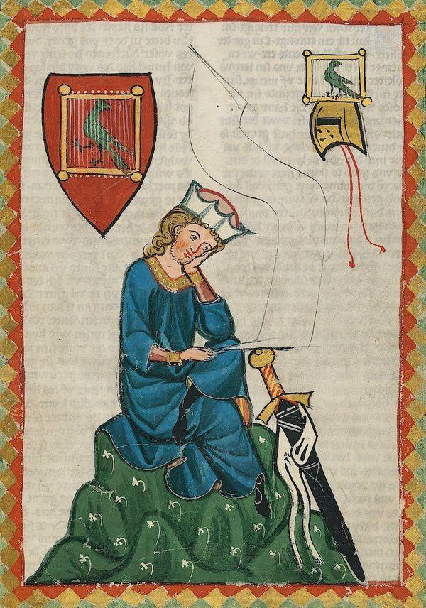 Walther von der Vogelweide, Codex Manesse