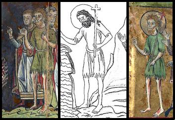 Jean le Baptiste, l'Hortus Deliciarum et le Flabellum de Londres