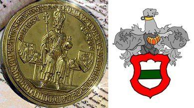 1355, Charles IV écrit à la Ville d'Obernai