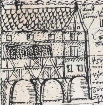 Le balcon de l'Hôtel de Ville d'Obernai