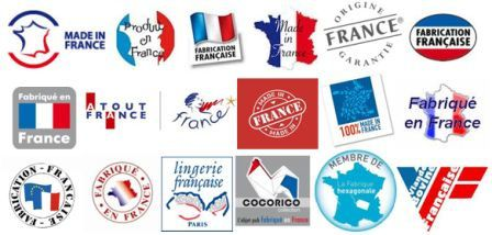 Logos Made in France.