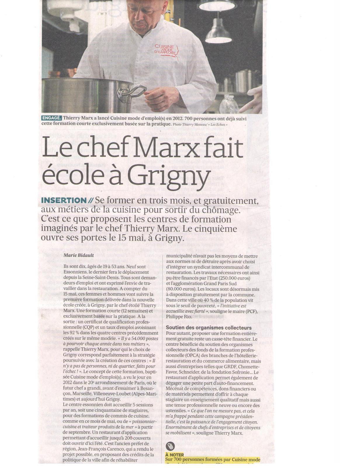 Vus et lus dans L'Usine Nouvelle n° 3512 du 20 avril 2017, n° 3513 du 27 avril 2017, Les Echos du 10 mai 2017, et le Parisien Eco du 22 mai 2017