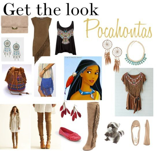 Get the look: Héroïne Disney Pocahontas