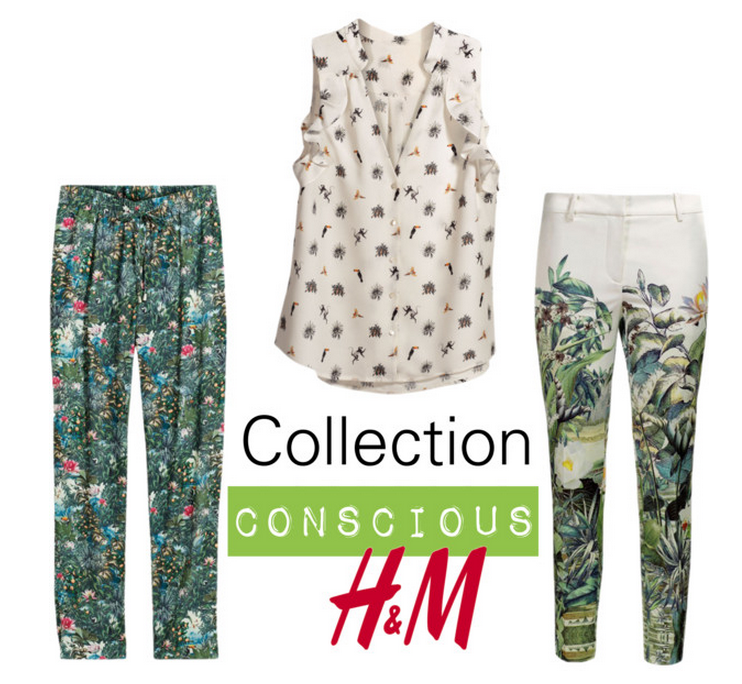 LOOKBOOK Collection Conscious H&amp&#x3B;M