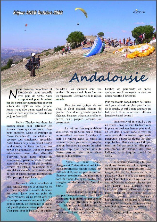 Andalousie 2009...