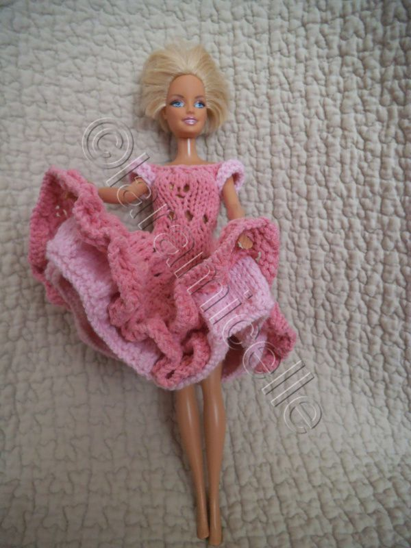 tuto gratuit barbie : façon new look ou french cancan