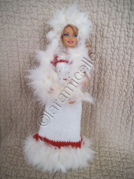 tuto gratuit barbie: robe barbie princesse des neiges