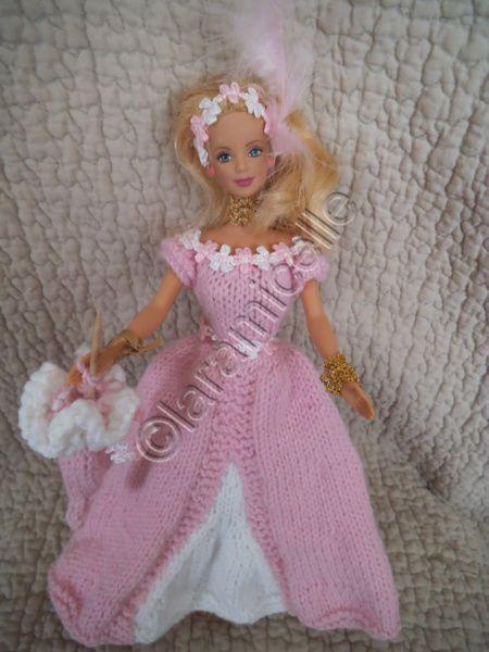 tutos gratuits barbie :les robes de princesse