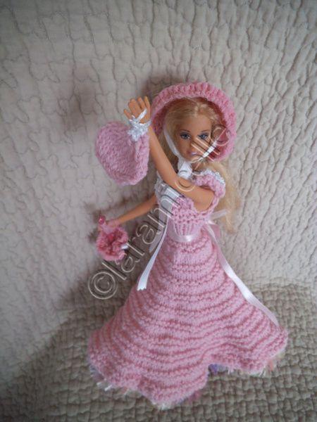 tuto gratuit barbie&#x3B; chapeau, ombrelle et petit sac pour princesse sonia