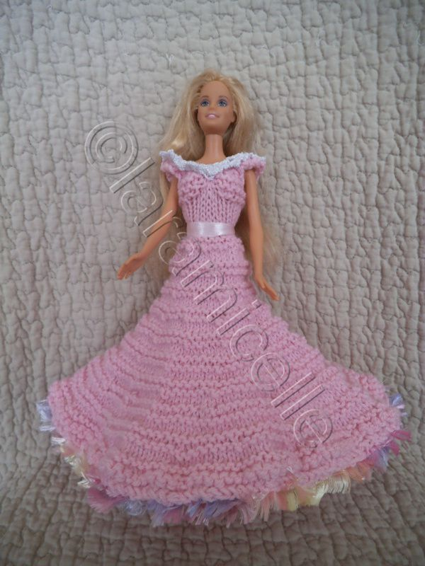 Ob Blog Patron Gratuit Robe Princesse Barbie