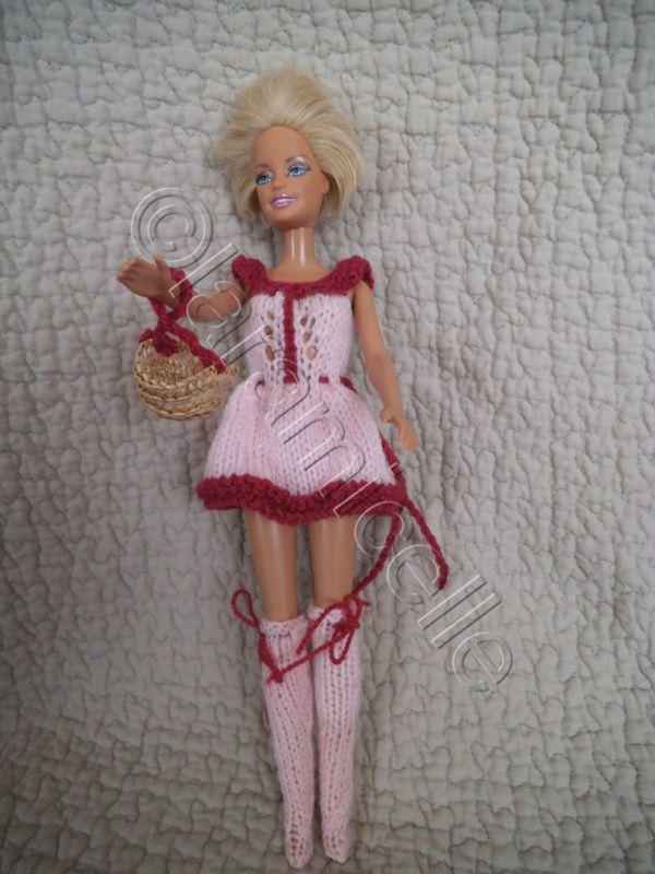 tuto gratuit barbie :  tenues inhabituelles et originales pour barbie