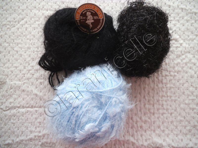 laines utilisées, elles peuvent bien sûr être remplacées par d'autres de même épaisseur