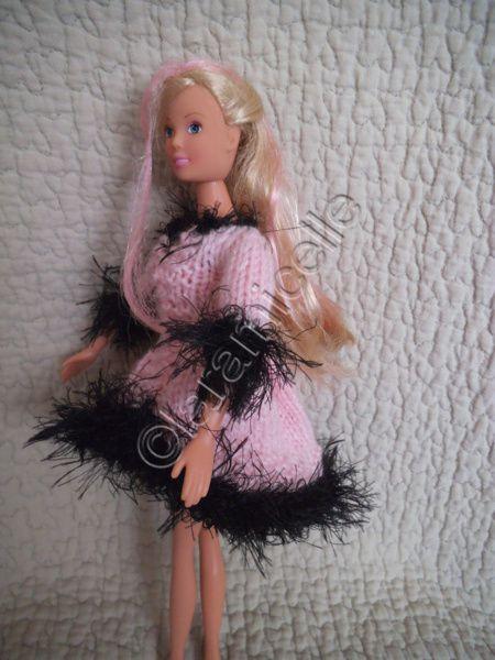 tuto gratuit barbie: robe comète très courte