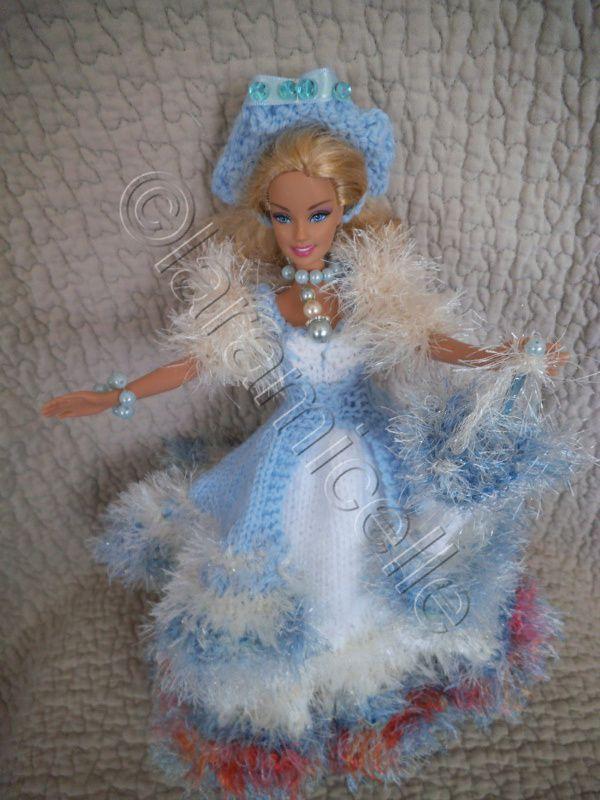 tuto gratuit barbie, mes robes de princesse: attention à la Corinne