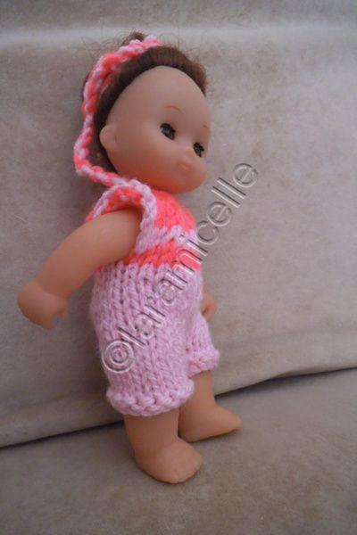 tuto gratuit mini poupée : combishort