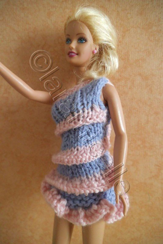 tuto gratuit barbie : barbie en fourreau