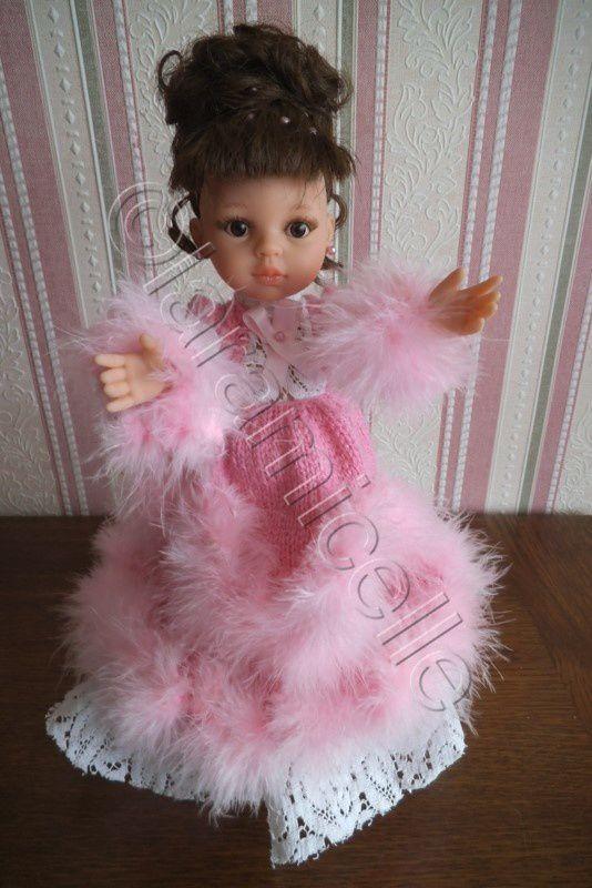 tuto gratuit paola reina: robe de princesse