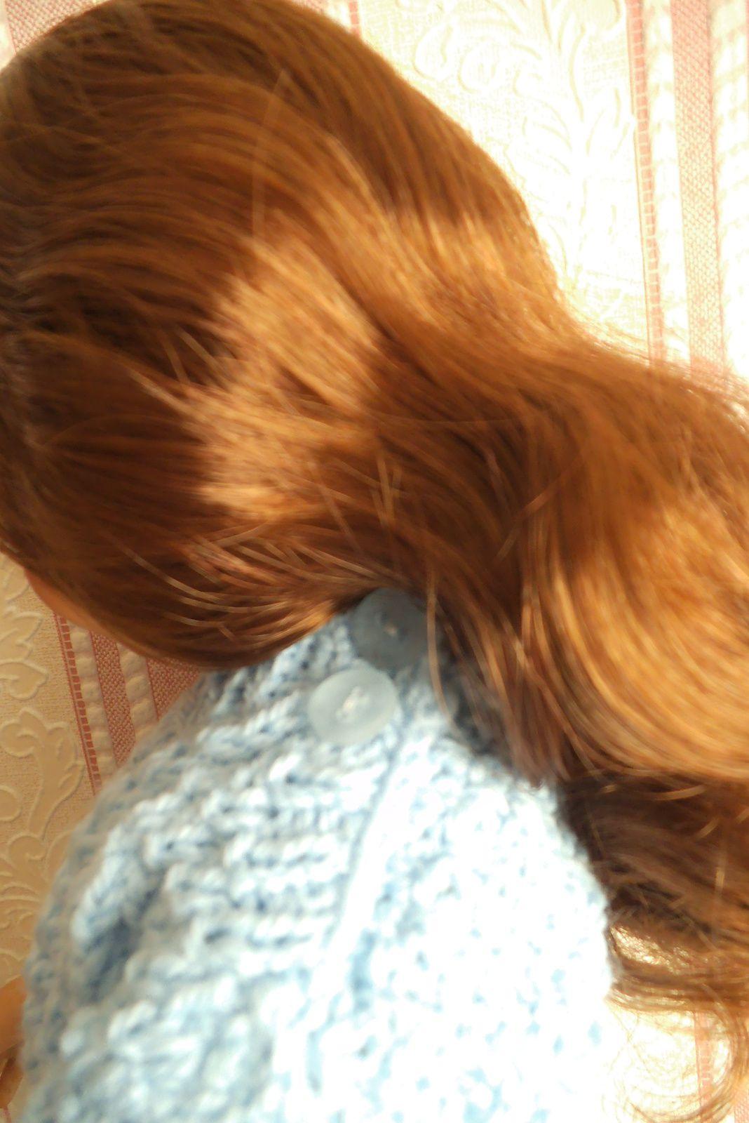 tuto gratuit poupée : robe points irlandais