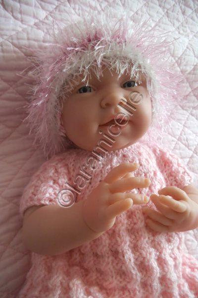 tuto gratuit bébé bérenguer /layette prématurée: bonnet bicolore