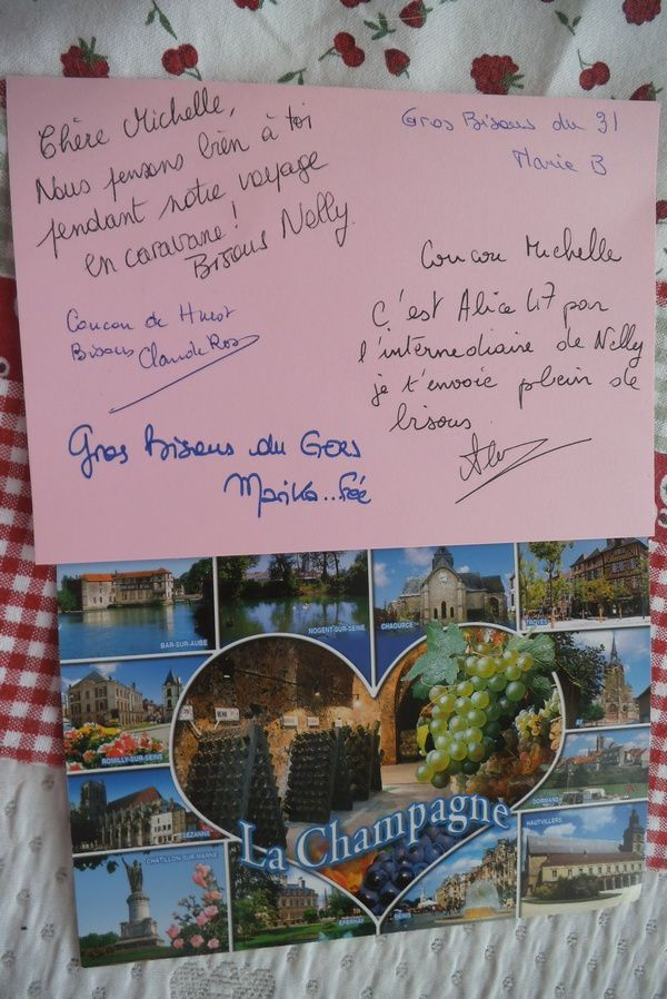 merci les copines