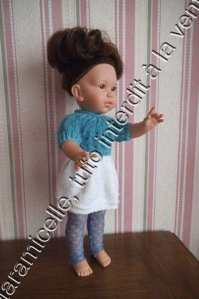 tuto gratuit poupée: pull vaporeux pour un automne tout doux