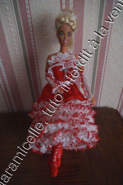 tuto gratuit barbie : bottines pour danser le french cancan