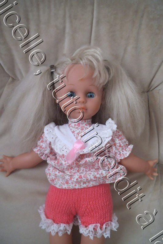 tuto gratuit poupée : petite culotte à dentelle