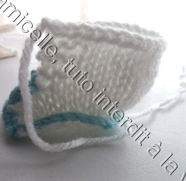tuto gratuit poupée: chaussons à lacets