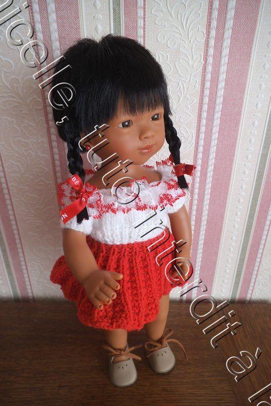 tuto gratuit poupée: blouse estivale