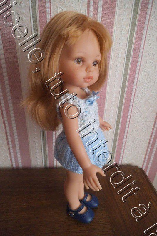 tuto gratuit poupée: petit haut pour tricoteuses débutantes