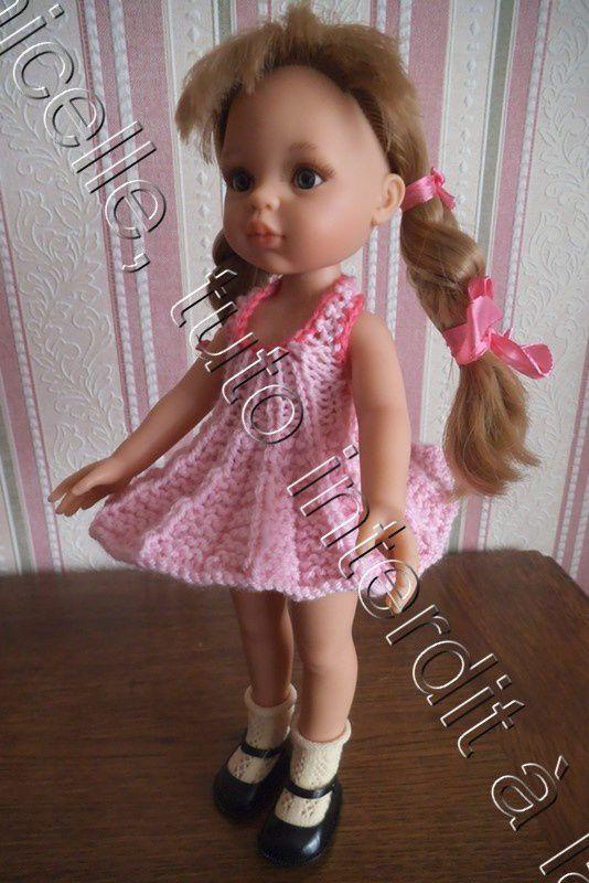 tuto gratuit poupée: robe soleil