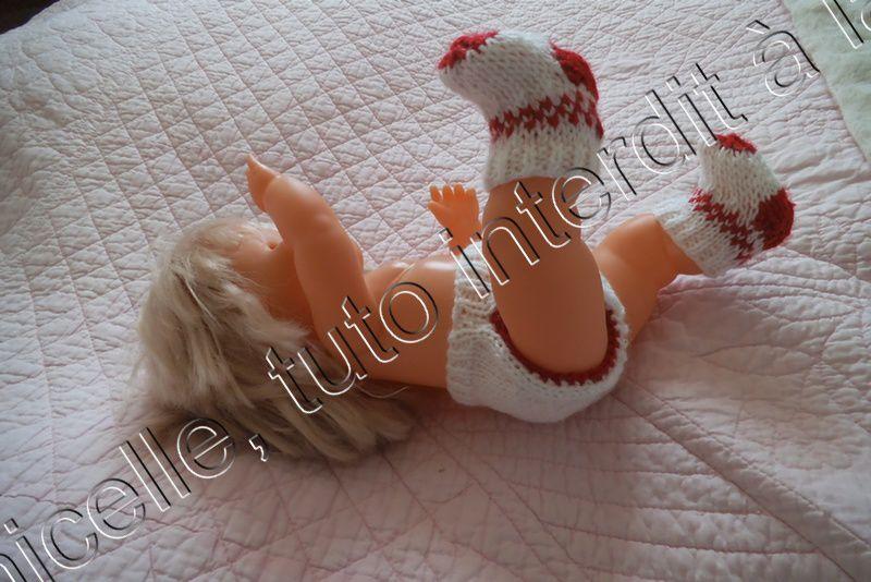 tuto gratuit poupée: petite culotte bicolore