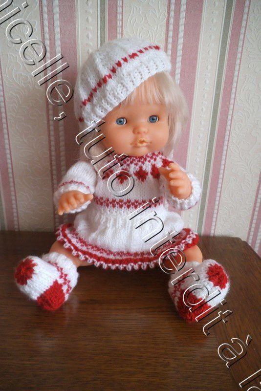 tuto gratuit poupée: un petit bibi tout simple