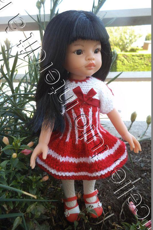 tuto gratuit poupée : robe cintrée pour une jolie poupée