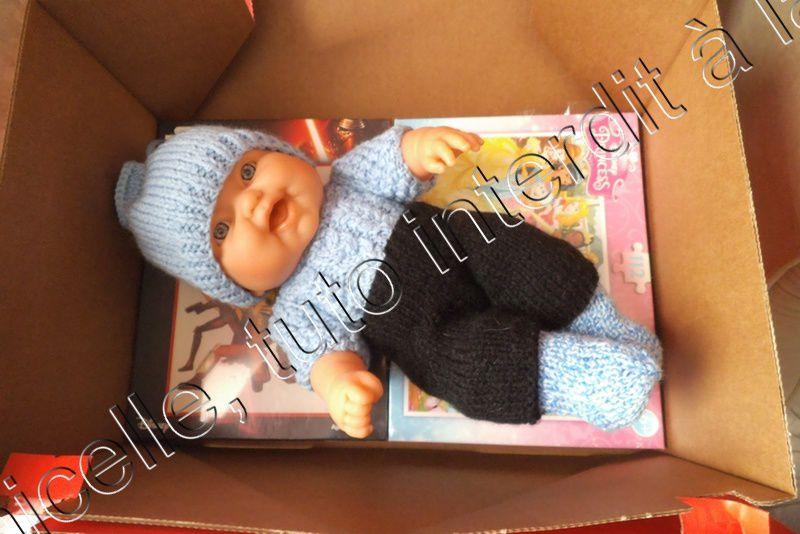 tuto gratuit poupée: bonnet fantaisie